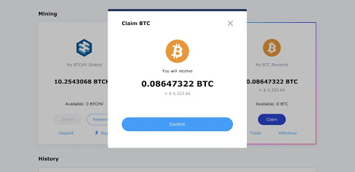 Withdraw Hash Hive BTCHV Bitcoin Rewards