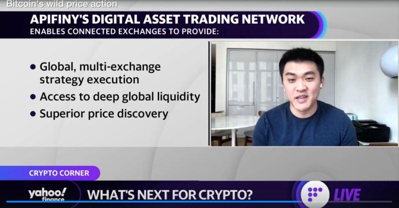 Haohan Xu - Apifiny CEO and Founder - Yahoo Finance Live