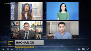 Haohan Xu Coindesk Interview